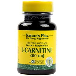 Nature's Plus L-Carnitine 300 mg