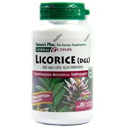 Nature's Plus Licorice (DGL) 500 mg