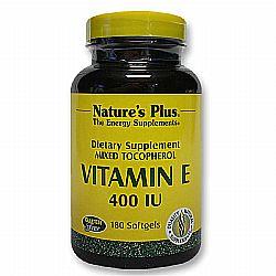 Nature's Plus Vitamin E Mixed Tocopherol