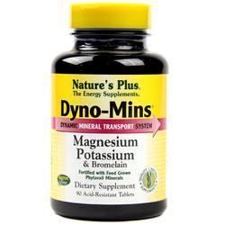 Nature's Plus Dyno-Mins Magnesium- Potassium  Bromelain
