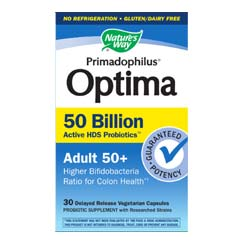 Nature's Way Primadophilus Optima 50 Billion Adult 50+