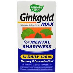Nature's Way Ginkgold Max