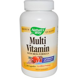 Nature's Way Multi Vitamin With Iron Formula