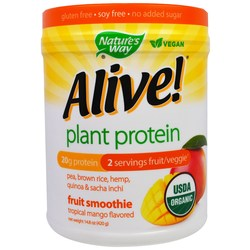 Nature's Way Organic Alive Plant Protein Smoothie