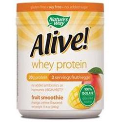 Nature's Way Alive Whey Protein Grass Fed Smoothie