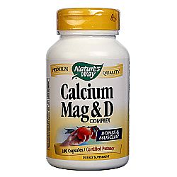 Nature's Way Calcium Mag and D Complex