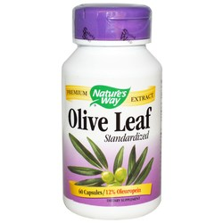Nature's Way Olive Leaf Standardized