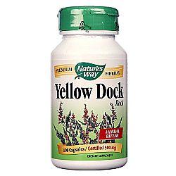 Nature's Way Yellow Dock Root