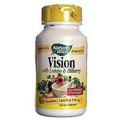 Nature's Way Vision with Lutein and Bilberry