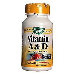 Nature's Way Vitamin A and D