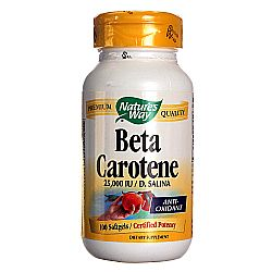 Nature's Way Beta Carotene