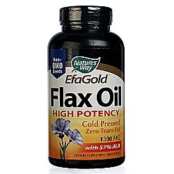 Nature's Way EFAGold Flax Oil High Potency