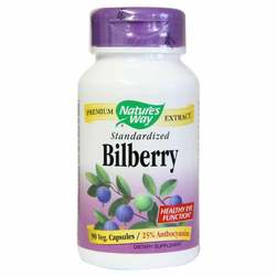 Nature's Way Bilberry Standardized