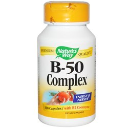 Nature's Way Vitamin B 50 Complex