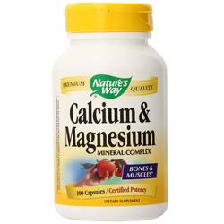 Nature's Way Calcium and Magnesium Mineral Complex