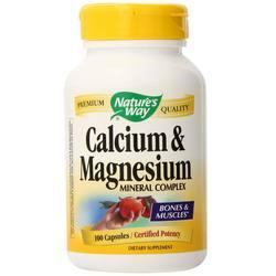 Nature's Way Calcium and Magnesium Mineral Complex