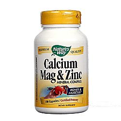 Nature's Way Calcium Mag and Zinc