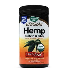 Nature's Way EfaGold Hemp Protein and Fiber