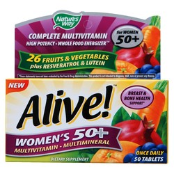 Nature's Way Alive! Women's 50+ Multivitamin