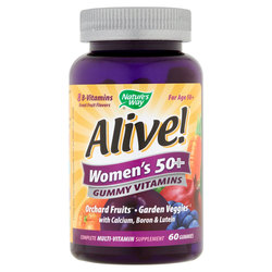 Nature's Way Alive Women's 50+ Gummies