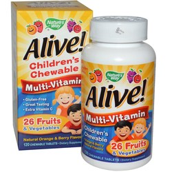 Nature's Way Alive! Children's Multi-Vitamin