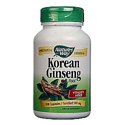 Nature's Way Korean Ginseng Root