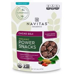 Navitas Naturals Goji Cacao Power Snacks