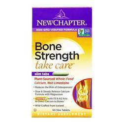 New Chapter Bone Strength Take Care Slim Tabs