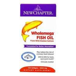 New Chapter Wholemega Whole Fish Oil