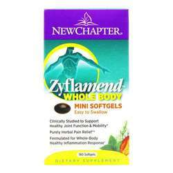 New Chapter Zyflamend Whole Body - East to Swallow Mini Soft Gels