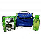 New Wave Enviro Lunchopolis Lunch Box Blue/Green