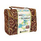 New Wave Enviro Lunchopolis Lunch Box Brown