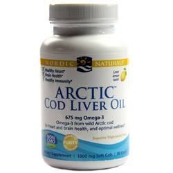 Nordic Naturals Arctic Cod Liver Oil Softgels