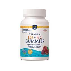Nordic Naturals Vitamin D3 + K2 Gummies