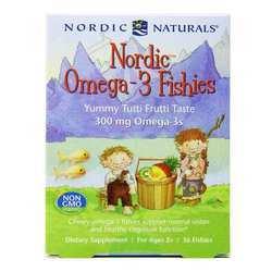 Nordic Naturals Nordic Omega-3 Fishies 300 mg