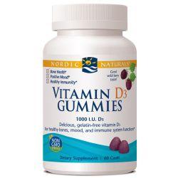 Nordic Naturals Vitamin D3 Gummies 1000 IU