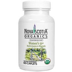 Nova Scotia Organics Women's 50 Plus Multivitamin and Minerals