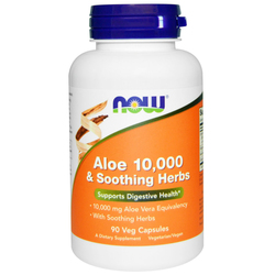 Now Foods Aloe 10-000 and Soothing Herbs
