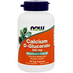 Now Foods Calcium D-Glucarate 500 Mg