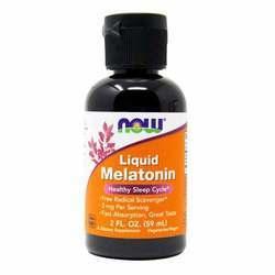 Now Foods Melatonin 3 mg Liquid