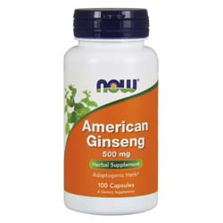 Now Foods American Ginseng