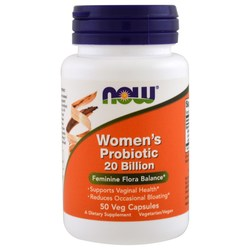 Now Foods Women's Probiotic 20 Billion