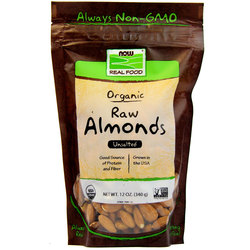 Now Foods Organic Raw Almonds