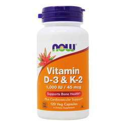Now Foods Vitamin D-3 and K-2