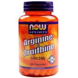 Now Foods L-Arginine and Ornithine