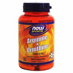 Now Foods Arginine and Ornithine