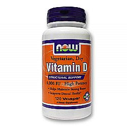 Now Foods Vitamin D