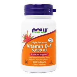 Now Foods Vitamin D3