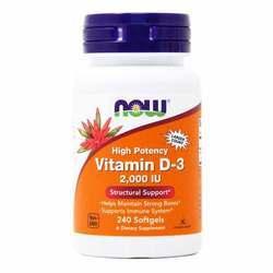 Now Foods Vitamin D-3