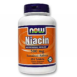Now Foods Niacin SR 500 mg